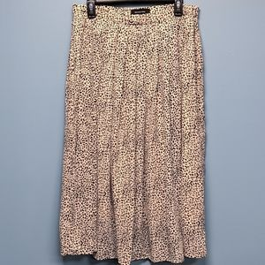 BNWT Who What Wear Pink Midi Skirt, size 12